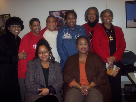 You are browsing images from: African American Book Club Photos